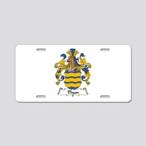 Thun Aluminum License Plate