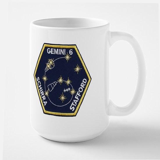Gemini 6-Go Blue! Large Mug