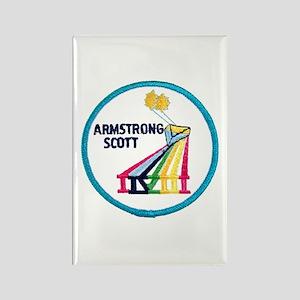 Gemini 8-Armstrong/Scott Rectangle Magnet
