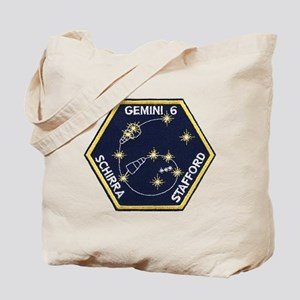 Gemini 6-Go Blue! Tote Bag