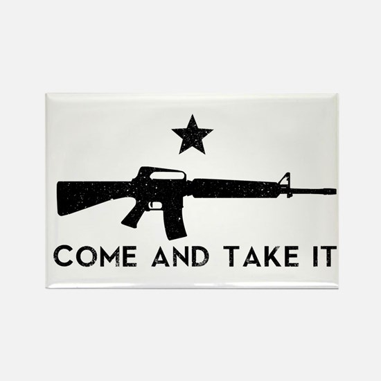 Come and Take It Rectangle Magnet (10 pack)