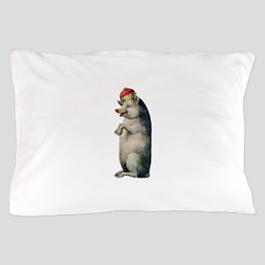 Pig King Pillow Case