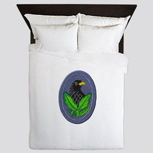 German Sniper Emblem Queen Duvet