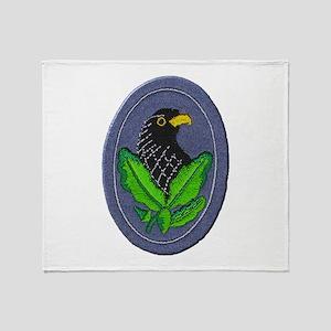 German Sniper Emblem Throw Blanket