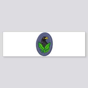 German Sniper Emblem Bumper Sticker