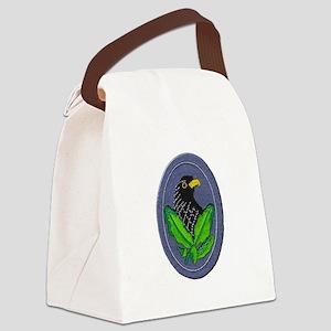 German Sniper Emblem Canvas Lunch Bag