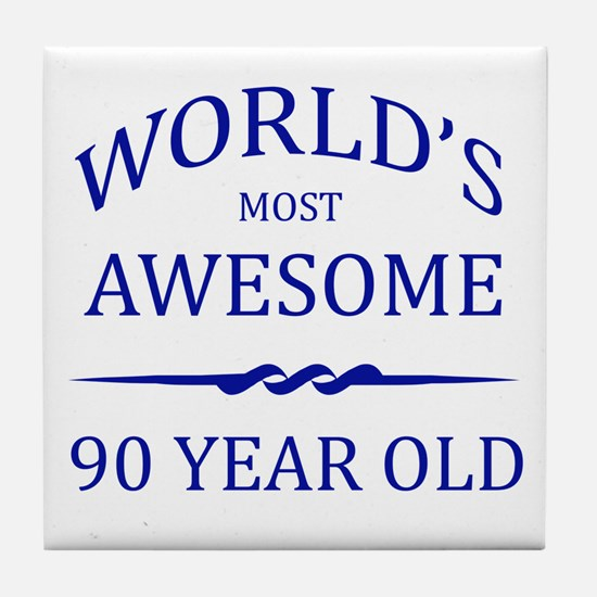 World's Most Awesome 90 Year Old Tile Coaster
