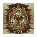 Aztec-ish Decor Tile Coaster