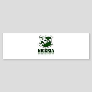 Retro Green Eagles Bumper Sticker
