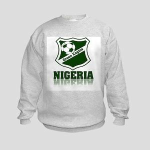 Retro Green Eagles Kids Sweatshirt