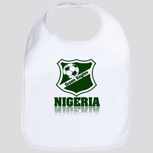 Retro Green Eagles Bib