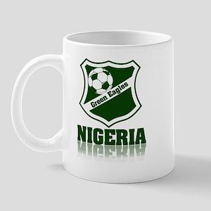 Retro Green Eagles Mug