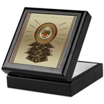 Aztec-ish Decor Keepsake Box
