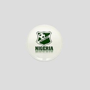 Retro Green Eagles Mini Button
