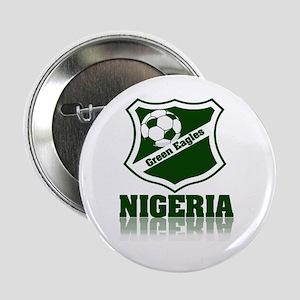 Retro Green Eagles Button