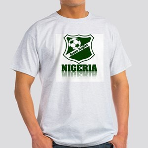 Retro Green Eagles Ash Grey T-Shirt