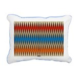 Aztec-ish Decor Rectangular Canvas Pillow