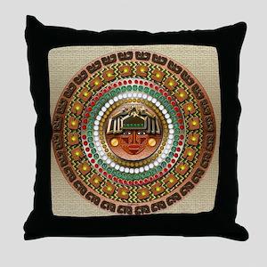 Aztec-ish Decor Throw Pillow