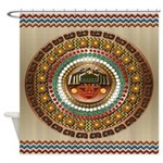 Aztec-ish Decor Shower Curtain