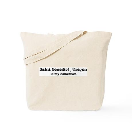 Saint Benedict - Hometown Tote Bag