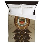 Aztec-ish Decor Queen Duvet