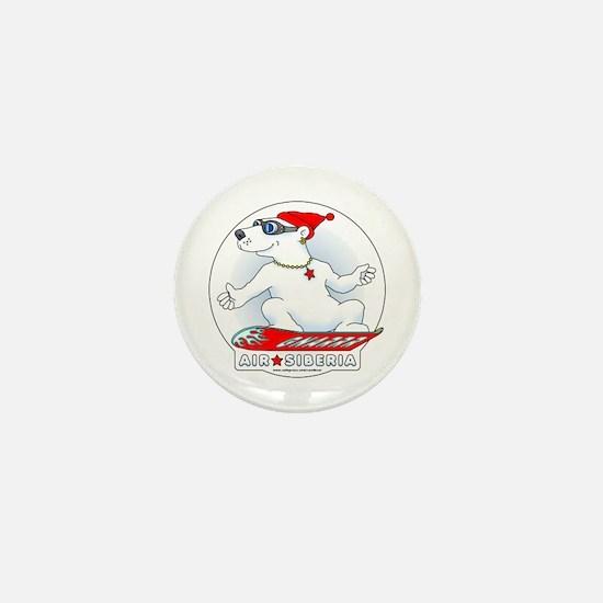 Cool Bear Mini Button