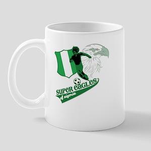 super eagles t shirt Mug
