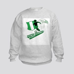 super eagles t shirt Kids Sweatshirt