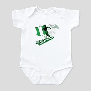 super eagles t shirt Infant Creeper
