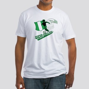 super eagles t shirt Fitted T-Shirt