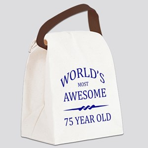 World's Most Awesome 75 Year Old Canvas Lunch Bag