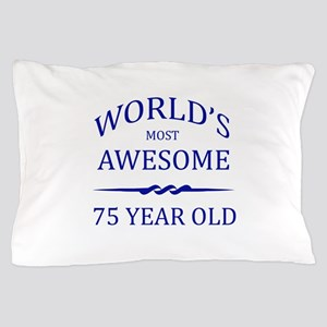 World's Most Awesome 75 Year Old Pillow Case