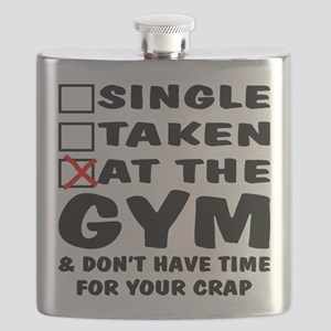 No Time For Your Crap Flask