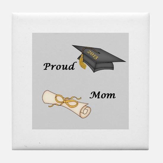 Proud Mom of a Graduate! Tile Coaster