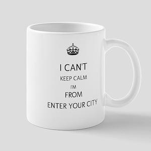 I Cant Keep Calm Mug