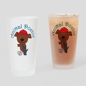 Animal Doctor Drinking Glass
