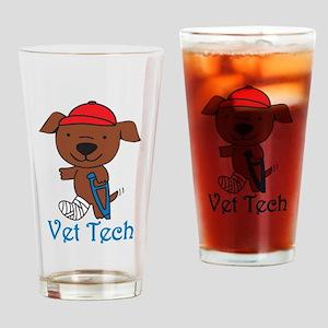 Vet Tech Drinking Glass