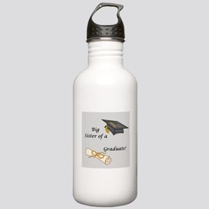 Big Sister of a Graduate Water Bottle