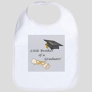Little Brother of a Graduate Bib