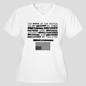 4th Amendment Plus Size T-Shirt