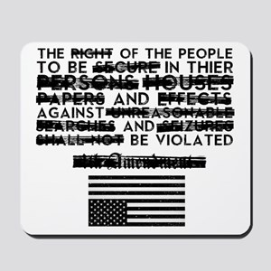 4th Amendment Mousepad
