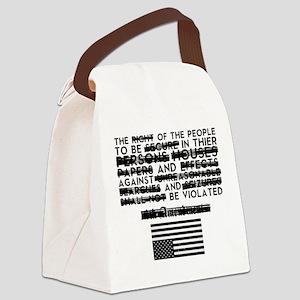 4th Amendment Canvas Lunch Bag