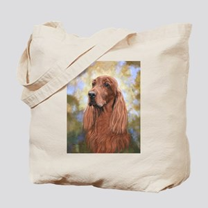 Irish Setter by Dawn Secord Tote Bag
