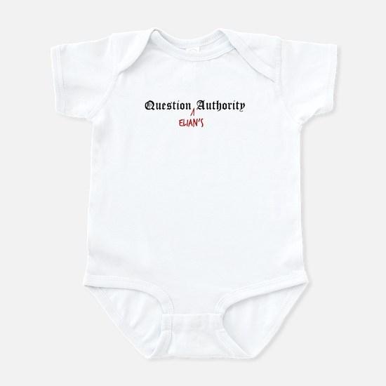 Question Elian Authority Infant Bodysuit