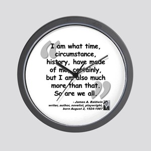 Baldwin More Quote Wall Clock