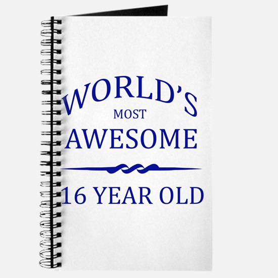 World's Most Awesome 16 Year Old Journal