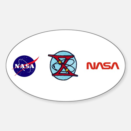 Gemini 10 Young/Collins Sticker (Oval)