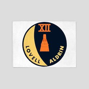 Gemini 12 Lovell/Aldrin 5'x7'Area Rug