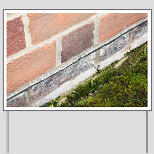 Damp-proofing in a house - Yard Sign