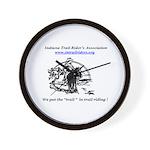 Indiana Trail Riders logo Wall Clock